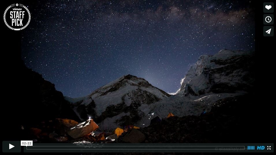 Everest Time Lapse