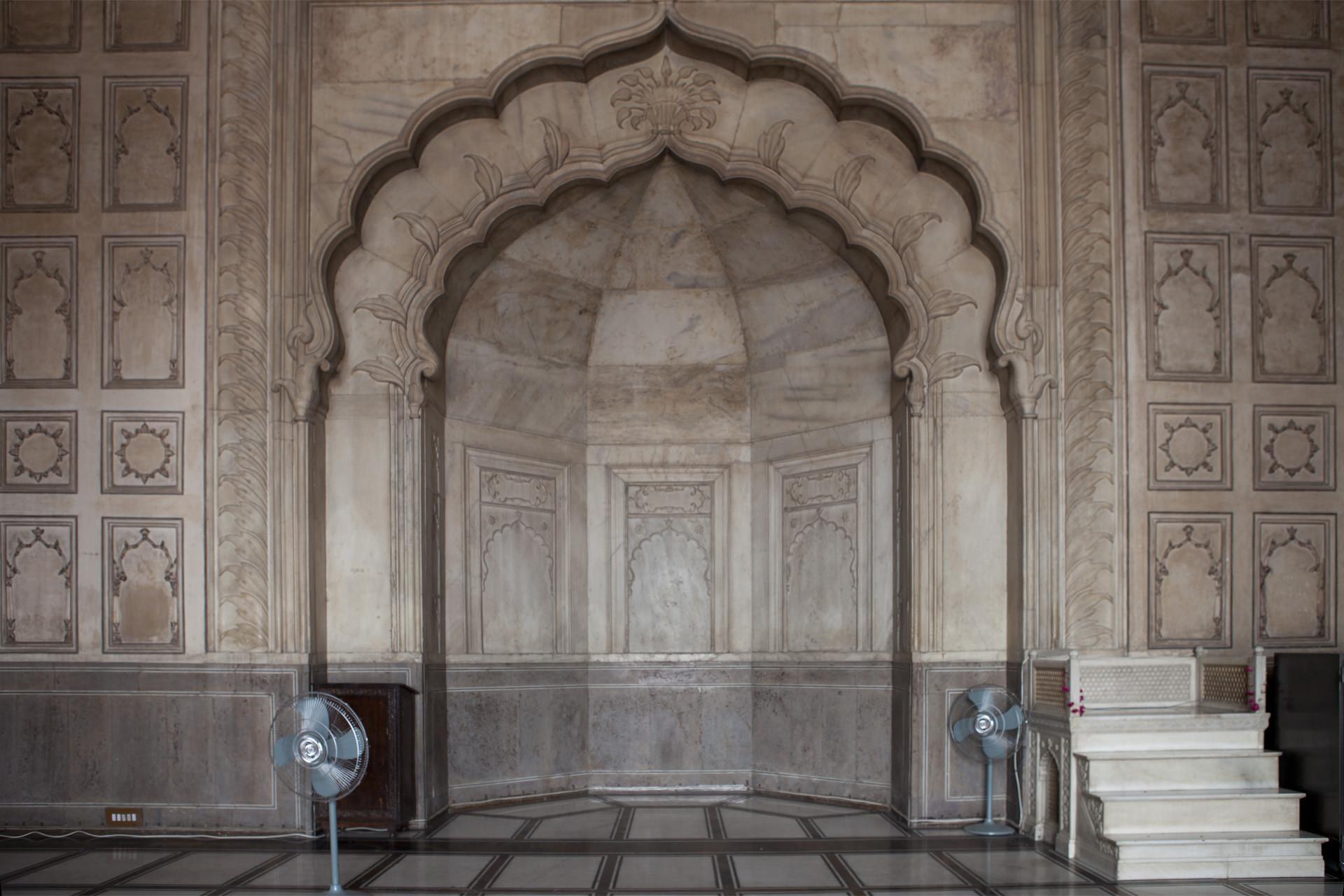 Badshahi Mosque Alcove