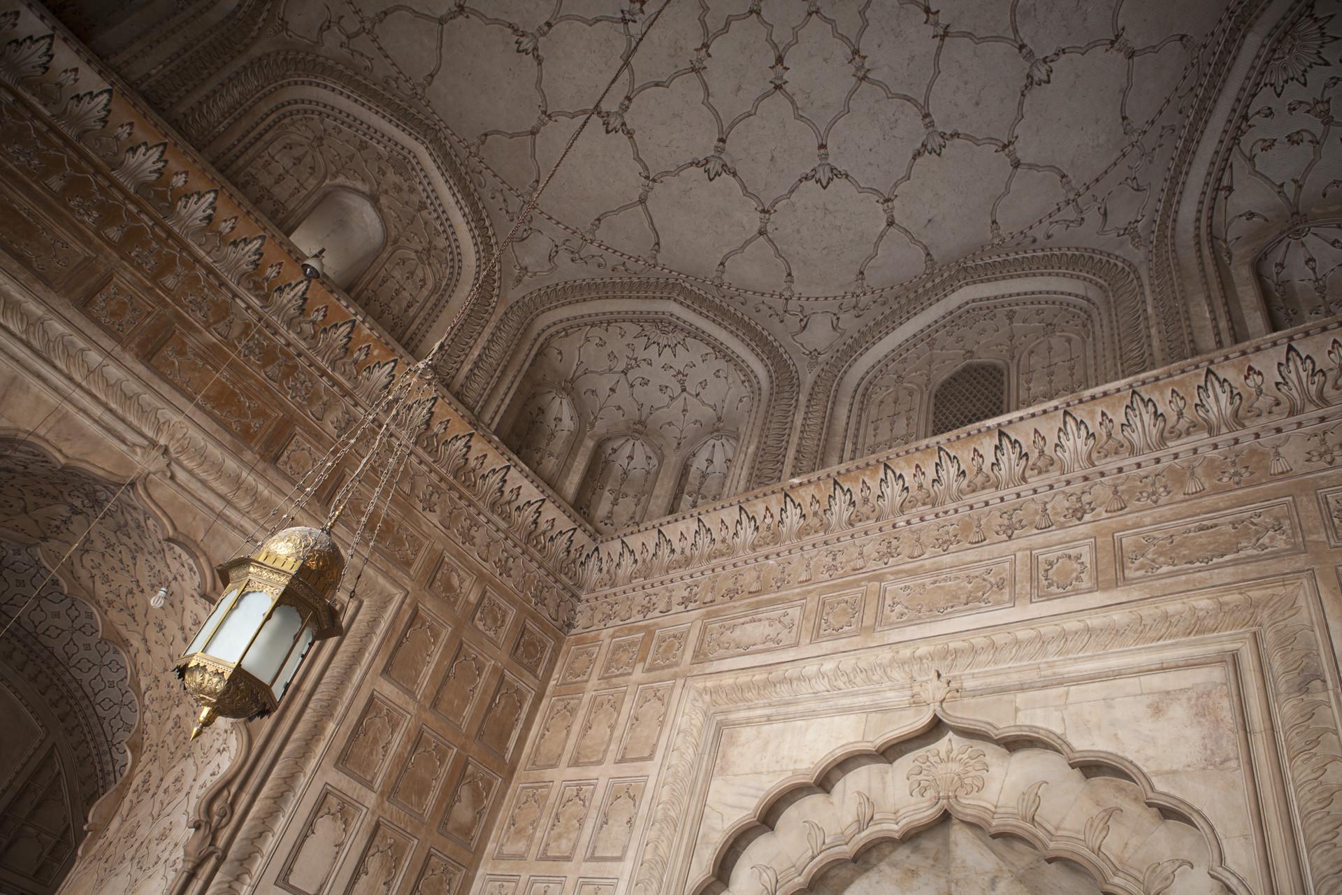 Badshahi Mosque Ceiling